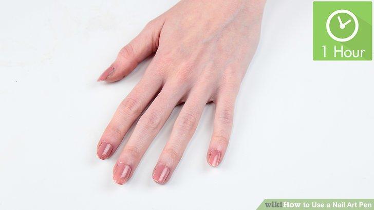 Image Led Use A Nail Art Pen Step 8