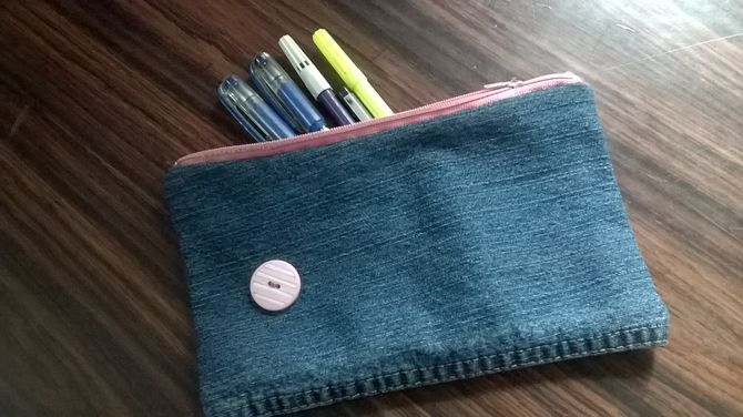 How to Make a Pencil Bag 9 Steps with Pictures  wikiHow