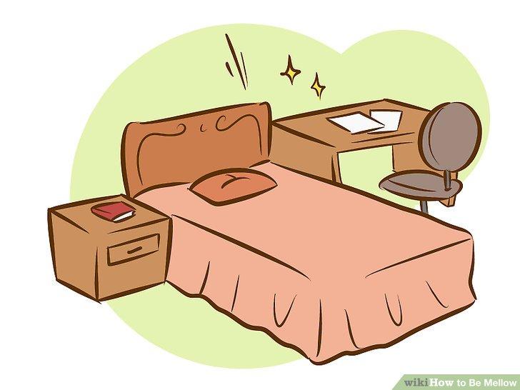 Halte deinen Raum sauber.