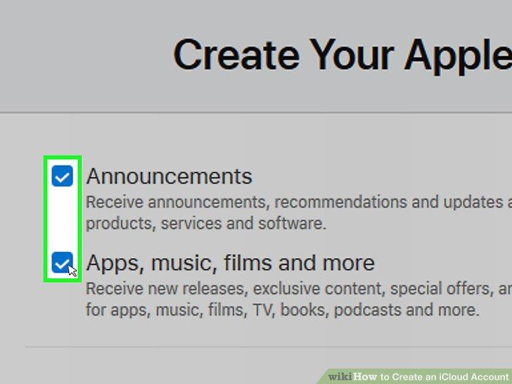 Scrollen Sie nach unten und aktivieren oder deaktivieren Sie die Kontrollkästchen von Apple.