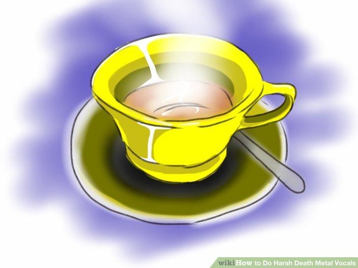 Trinken Sie lauwarmes Wasser oder Tee eine Stunde vor dem Auftritt sowie zwischen den Songs.