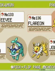 Image titled evolve eevee in pokemon step also how to with pictures wikihow rh