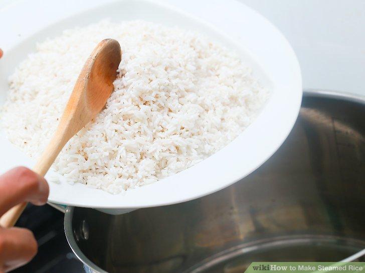 Fügen Sie in den Reis hinzu.