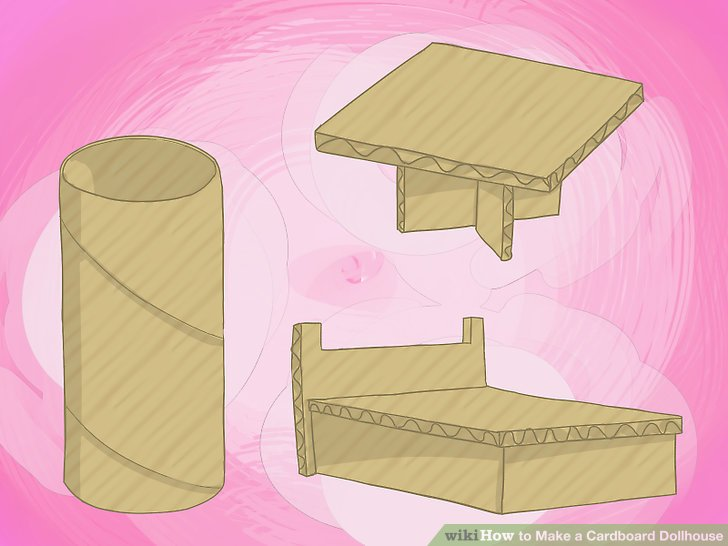 shoe shaped chair french style 3 ways to make a cardboard dollhouse - wikihow