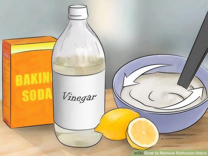 Use baking soda, lemon juice, and vinegar.