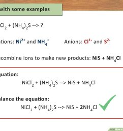 How to Write a Chemical Equation (with Pictures) - wikiHow [ 900 x 1200 Pixel ]