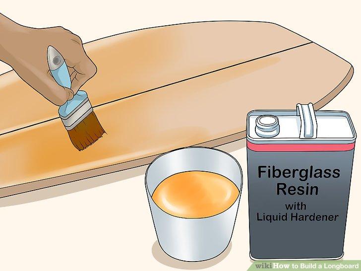 Bedecken Sie die Platine mit einer Schicht Polyurethanlack oder Fiberglasharz.