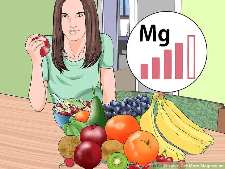Iss mehr Obst und Gemüse.