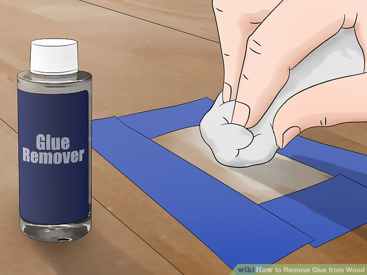 How To Remove Wood Glue From Glass