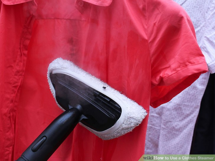 How to Use a Clothes Steamer 10 Steps with Pictures