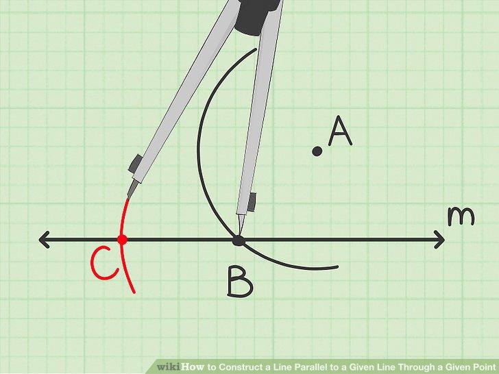 Draw the third vertex of the rhombus.