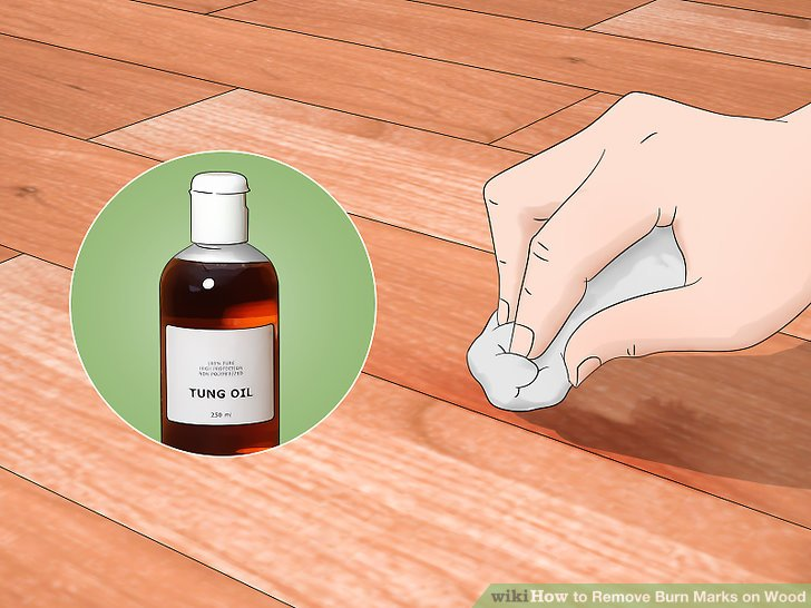 How To Remove Tung Oil From Wood
