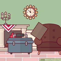 Pu Leather Sofa Repair Funky Beds Nz 3 Ways To A Faux Wikihow Image Titled Step 10