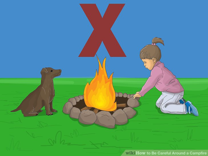 How to Be Careful Around a Campfire 12 Steps with Pictures