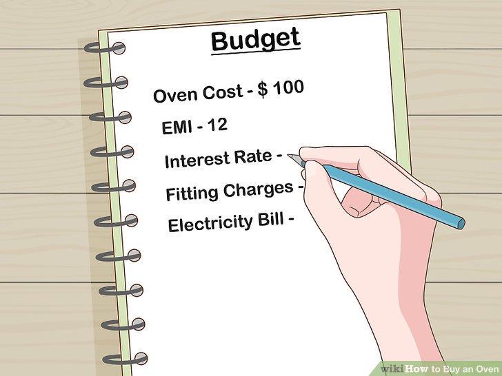 Überprüfen Sie Ihr Budget.