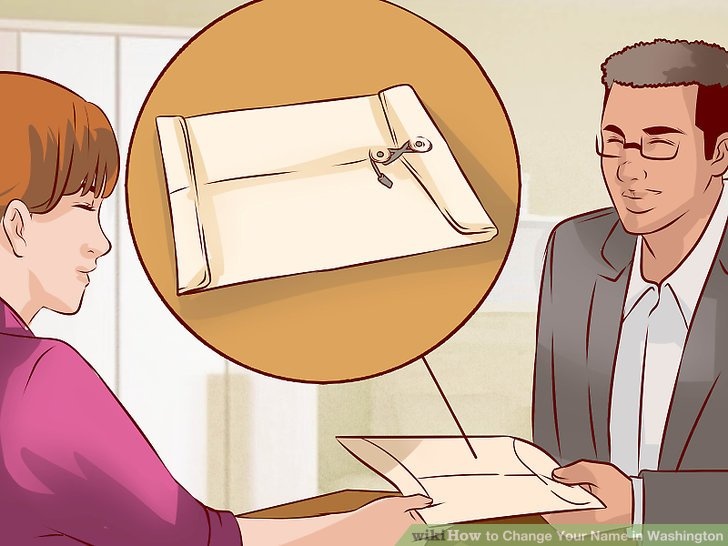Present your documents.