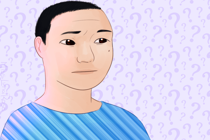 Confused Man Wearing Blue.png