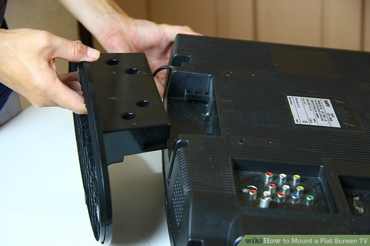 How to Mount a Flat Screen TV 14 Steps with Pictures