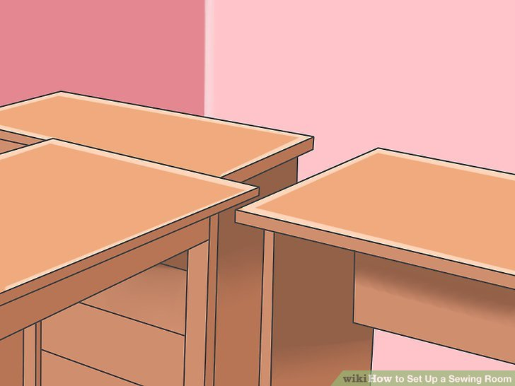 Arrange the equipment and furniture according to your floor plan.