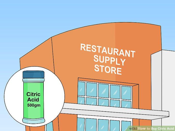 Bir restoran tedarikçisinde alışveriş yapın.