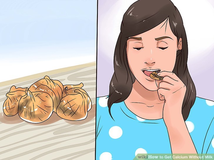 Snack on dried figs.