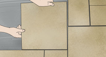how to install floor tile with