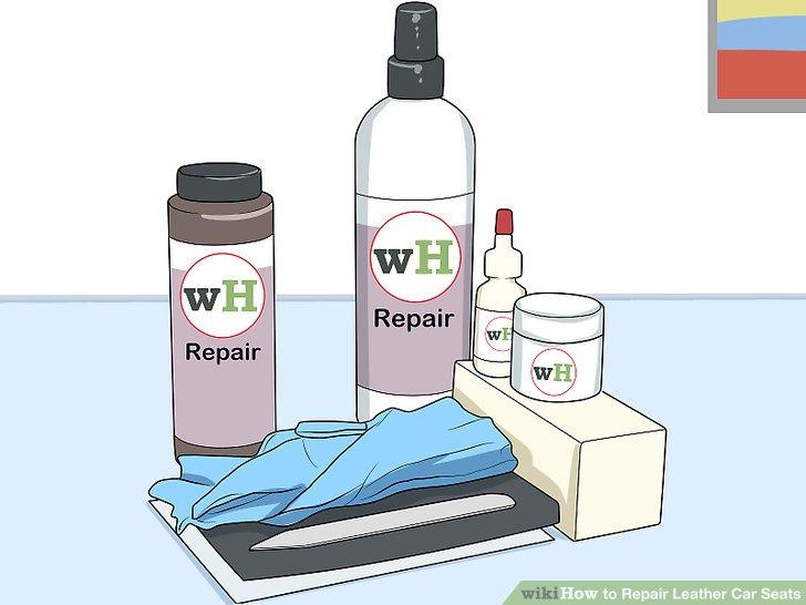 Wie ist es gemacht? - Wie zu Reparieren Leder Auto Sitze