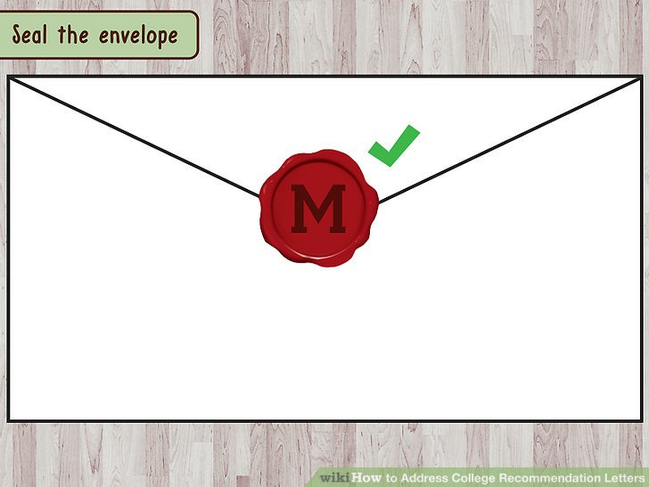 How to Address College Recommendation Letters: 9 Steps