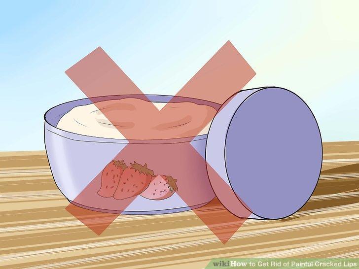 Vermeiden Sie den übermäßigen Gebrauch von kommerziellen Hautbehandlungen.