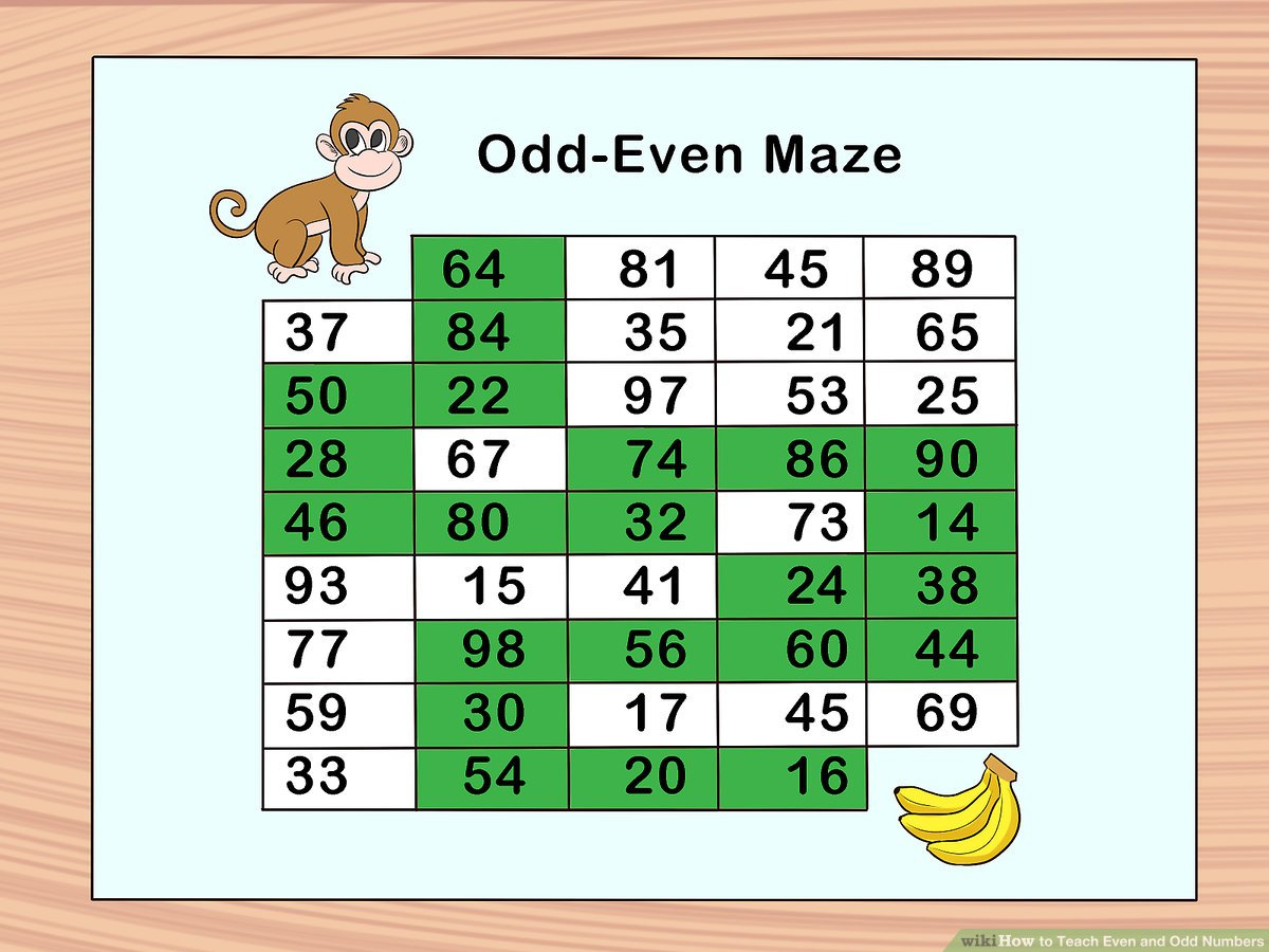 hight resolution of How to Teach Even and Odd Numbers: 10 Steps (with Pictures)