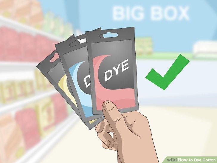 Erwerben Sie eine kommerzielle Farbe in einem großen Kistenladen.