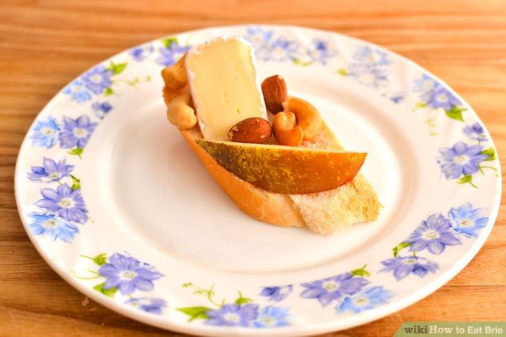 Lassen Sie sich Obst, Cracker, Nüsse oder Brot begleiten.