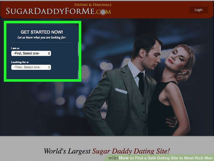 Rich men free dating sites