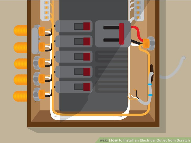 Wiring Outlet To Circuit Breaker