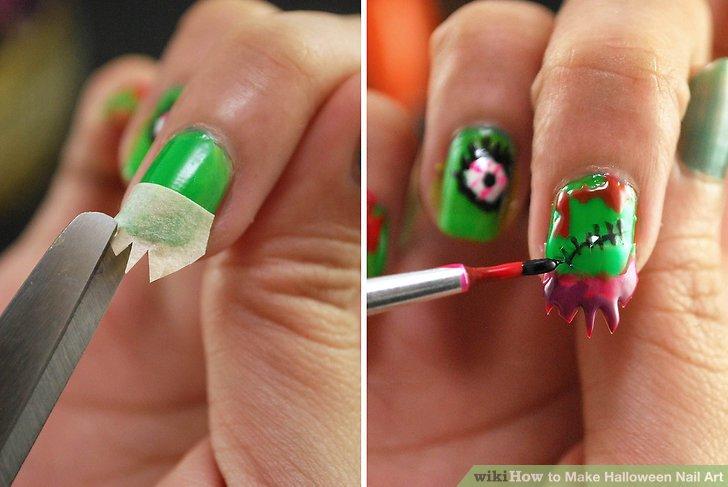 Image Led Make Nail Art Step 11