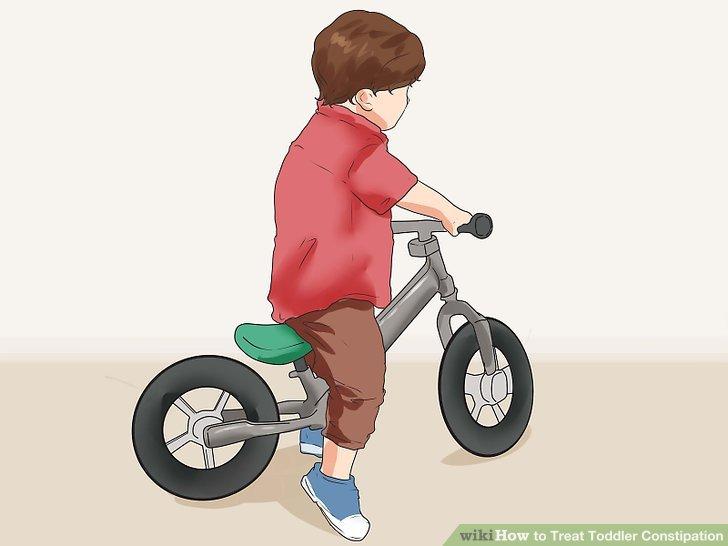 Halten Sie Ihr Kind aktiv.