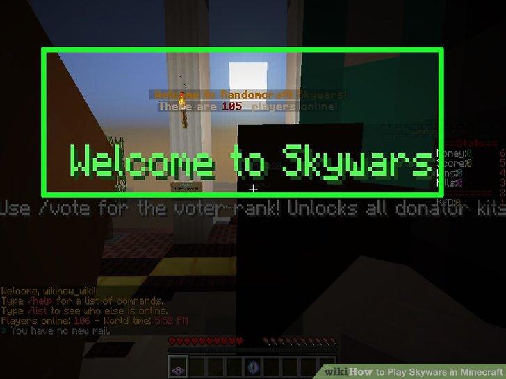 Wie Ist Es Gemacht Wie Zu Spielen In Minecraft Skywars - Minecraft skywars spiele