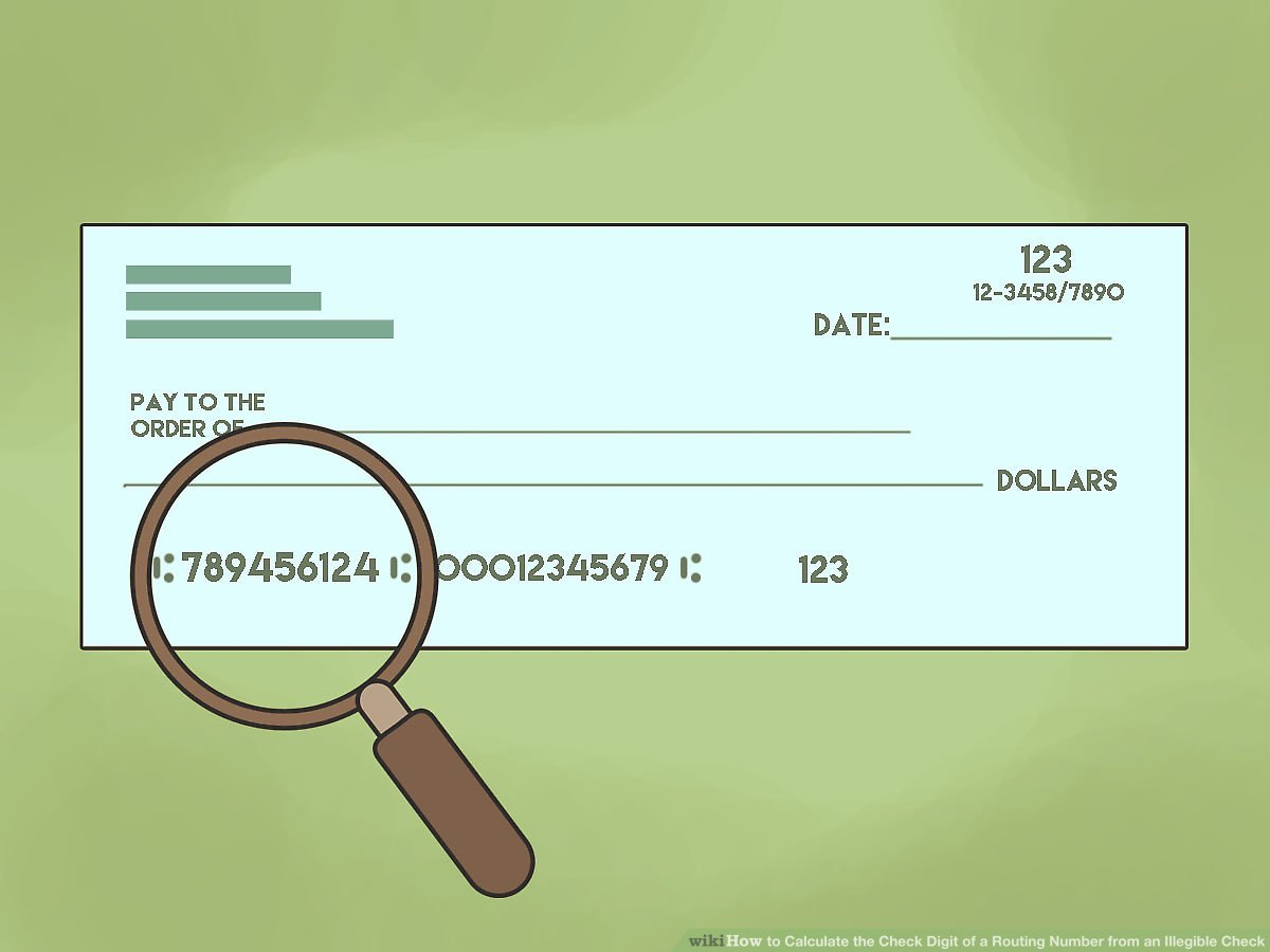 hight resolution of 3 ways to calculate the check digit of a routing number from an illegible check