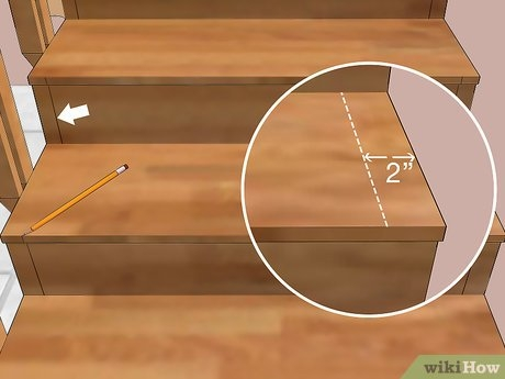 How To Carpet Stairs With Pictures Wikihow   Putting Carpet On Stairs   Modern   Colour   Design   Gray   Protector