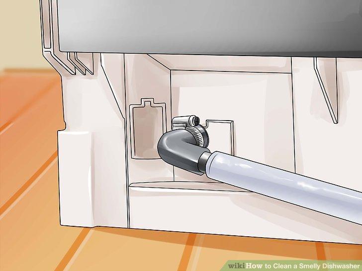 Stellen Sie sicher, dass der Spülschlauch des Geschirrspülers an der richtigen Stelle installiert ist.