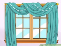 How to Drape Window Scarves: 5 Steps (with Pictures)