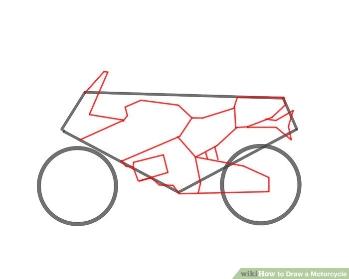 4 Ways to Draw a Motorcycle  wikiHow