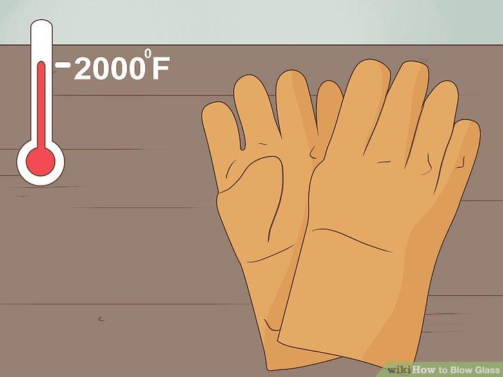 Wear heat-resistant gloves when needed.