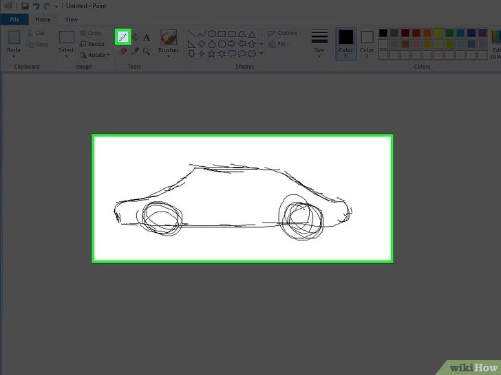 3 Cara untuk Menggambar dan Mewarnai Dengan Microsoft Paint