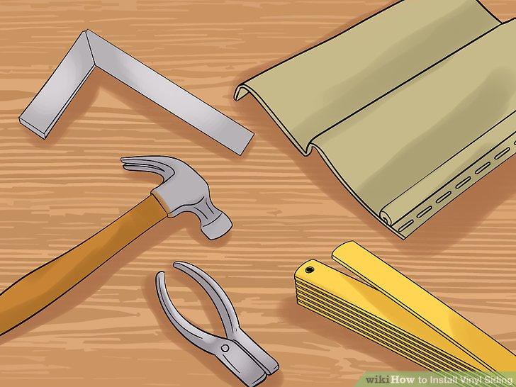 Sammeln Sie Ihre Werkzeuge und Materialien.