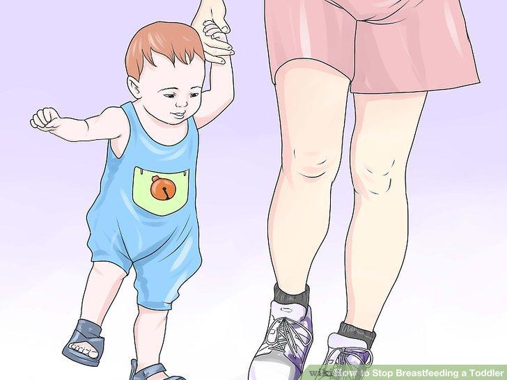 Dein Baby ablenken.