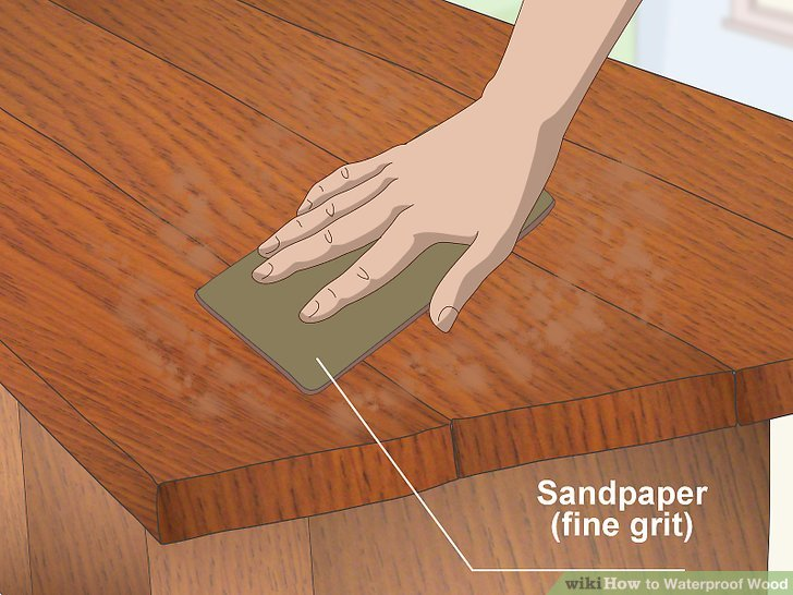 Food Safe Waterproof Wood Finish