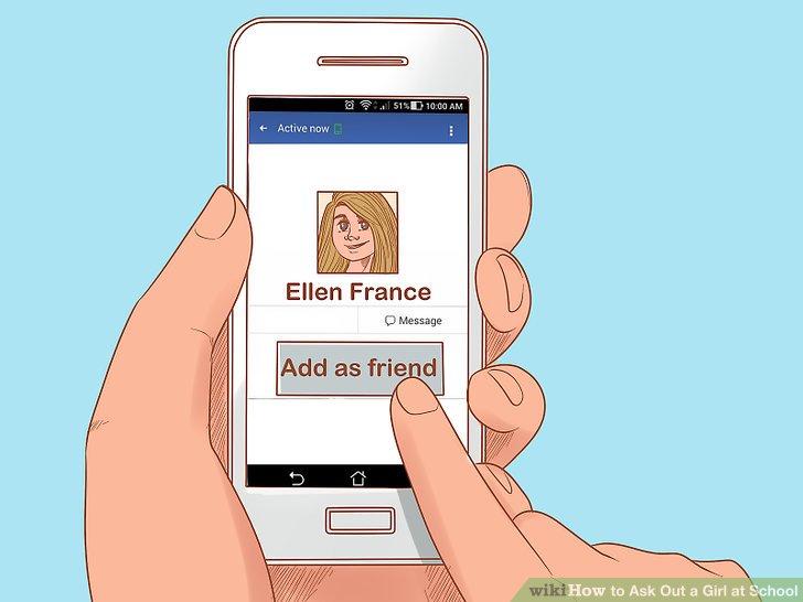 Freund sie in den sozialen Medien an, wenn du möchtest.