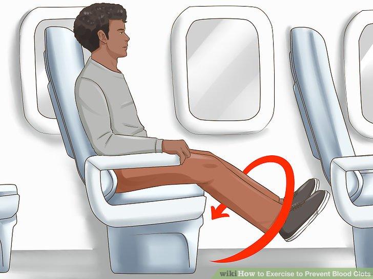 Trainieren Sie Ihre Füße und Knöchel im Sitzen.