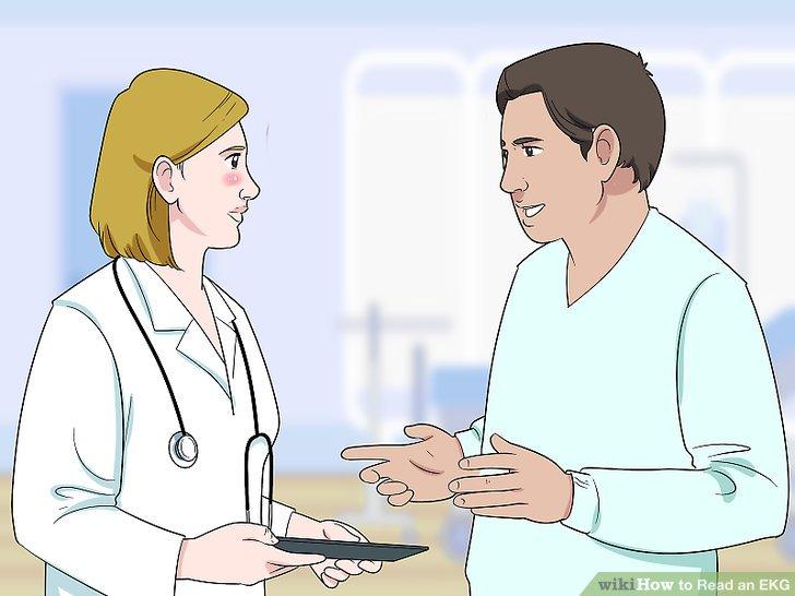 Fragen Sie Ihren Arzt nach Unregelmäßigkeiten.